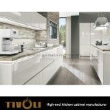 Ktichenの白い単位Tivo-0111hが付いている台所のための既製の現代的なキャビネット