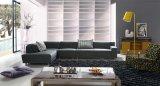 Conjunto de sofá de canto de tecido clássico estilo americano para sala de estar (F816)