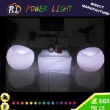 Présidence rechargeable changeante de sofa lumineuse par lueur de la couleur DEL Apple