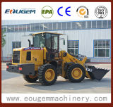 Agricultura de Eougem que cultiva o carregador da roda 2.8ton com a cubeta 4in1