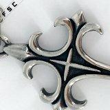 Venda Por Atacado Design Vintage Cross Necklace Pendant para homens