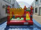 Castillo inflable comercial, gorila inflable del puente en ventas