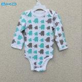 Taille personnalisée Vêtements pour bébés Long Sleeve Infant Onesie