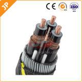 Cable de transmisión del alambre de cobre XLPE del LV de la alta calidad