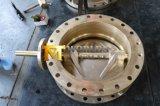 PTFEのシート(D71X-10/16)が付いているC95800 C95500 C95400のAlの青銅の蝶弁