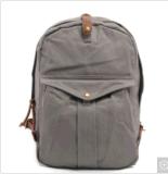 Saco impermeável da trouxa da escola da lona da mochila do estudante de Leisurre
