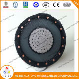 cable 133% de transmisión de 1/C 15kv Xlp Mv-90 UL1072 Icea 94 649