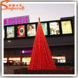Albero di Natale artificiale della decorazione chiara di natale di 7 Ft