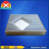 Extrusión de Aluminio Perfil Radiador Sistema de refrigeración para Equipos de alimentación