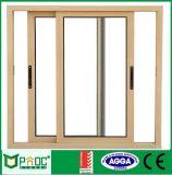 Алюминиевый сползая тип дверь с двойным стеклом Pnocsd0038