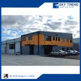 Os materiais de construção baratos da construção projetam o armazém pré-fabricado da construção de aço