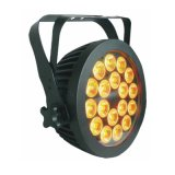 Nieuwe 18 * 15W RGBWA + UV 6in1 LED PAR voor Outdoor Stage Lighting