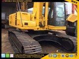 Original usado excavadora sobre orugas Komatsu de Japón (usadas de excavadora Hydraulice PC220-6)