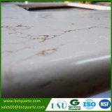 Artificial Golden delicious Veins Quartz Stone Countertop for Kitchen and Bathroom