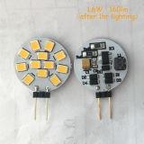 12pzas 2835SMD LED LED la bombilla (G4-G4-012)