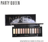 Sombra de ojo cosmética ahumada de 12 colores de la reina del partido