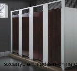Cloison de toilette en bois utilisée pour l'école / Hôtel / Hôpitaux / Restaurants Mur