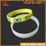 Customed Firmenzeichen-Form-Silikon Wrisband /Silicone Armband (YB-HD-183)