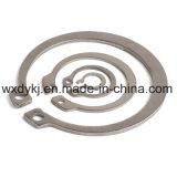 Grampo de retenção interno do aço inoxidável 304 para o eixo