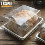 Cassetto modellato polpa non candeggiata biodegradabile della bagassa della canna da zucchero con il coperchio dell'animale domestico