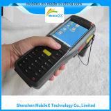 Lettore tenuto in mano di frequenza ultraelevata RFID del mobile, impronta digitale, GPRS/GSM