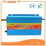 Cargador de batería aprobado de Suoer RoHS 40A 12V (MA-1240A)