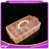 Molde de caixa de armazenamento transparente de injeção de plástico