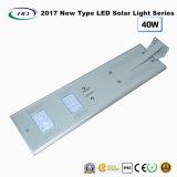 Novo tipo 2017 luz de rua solar completa 40W do diodo emissor de luz