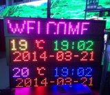 Color de rosa roja imágenes y texto de la publicidad Display P10 Módulo LED