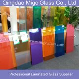 Покрашенное Tempered прокатанное стекло (плоское /Curved)