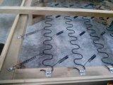 Macchina meccanica automatica della molla del materasso del sofà di zigzag del nastro metallico