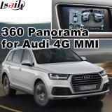 Vista traseira & 360 Interface panorama para a Audi 4G Sistema Mmi Entrada de sinal RGB Lvds Tela Fundido