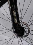 motor sin cepillo 250W bici eléctrica de 28 pulgadas con el marco de la fibra del carbón