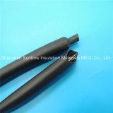 Resistente al fuego UL VW-1 3: 1 forrado de adhesivo de poliolefina de pared media tubos termorretráctiles