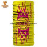 Bestes Preis-spätestes gute Qualitätsbildschirm-Drucken Microfiber gelber Schal