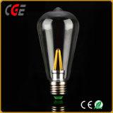 Birnen-Lampen-des Heizfaden-LED Beleuchtung der LED-Lampen-LED Birnen-der Serien-St64 4W LED