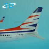 B737-800 шкалы 1/100 самолеты модели дисплея