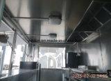 Equipamento do caminhão do alimento do aço inoxidável mini para o torradeira