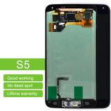Чернота панели касания экрана & цифрователя LCD для индикации галактики S5 LCD Samsung