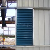 Almacén prefabricado de la estructura de acero del marco porta bien diseñado para Gabón