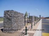 Treillis métallique galvanisé Chaud-Plongé de cadre de Gabion/de Gabion