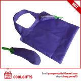 선전용 선물을%s 귀여운 Foldable 190t 폴리에스테 쇼핑 백