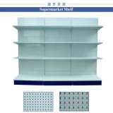 Складывая шкаф полки гондолы индикации металла супермаркета
