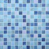 Mosaico poco costoso cinese della piscina di Mosaico del mosaico di vetro blu