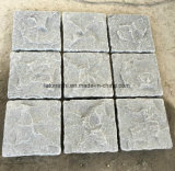 Getuimelde Grijze Cobble van het Graniet G654 Steen voor het Bedekken van de Buitenkant