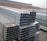 Angemessener Preis-galvanisiertes quadratisches Stahlgefäß/Rohr für Aufbau