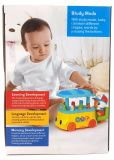Kind-pädagogisches buntes Eiscreme-Karren-Baby-Plastikspielzeug