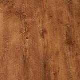 Seule planche en bois d'imitation de vinyle de plancher de planche de vinyle de PVC