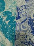 زرقاء زهرة طباعة بناء لأنّ ملابس رياضيّة ([هد1401106])
