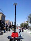 LED Solar Garden Lights Importateurs Warm White Outdoor Pole Light